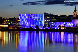 Ars Electronica Center - Foto: © Linz Tourismus